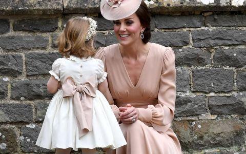 Printesa Charlotte, aparitie adorabila la nunta matusii ei, Pippa Middleton. Cat de mare s-a facut si cu cine seamana