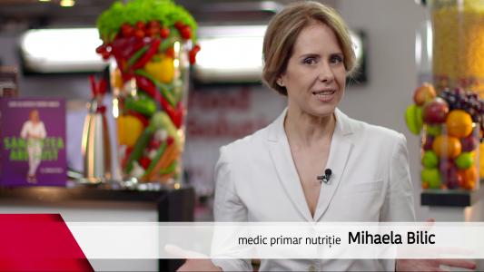Medicul Mihaela Bilic, despre importanta vitaminelor