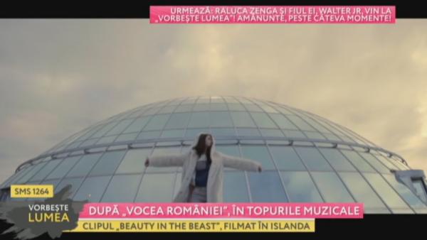 Dupa Vocea Romaniei , in topurile muzicale