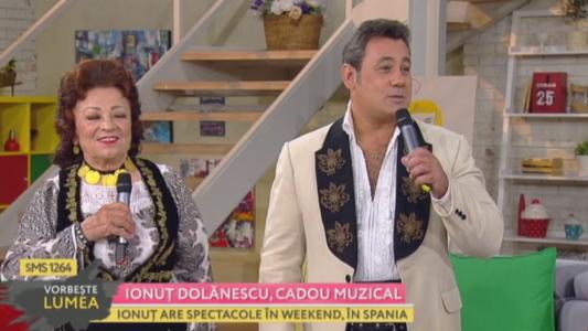 Ionut Dolanescu, cadou muzical