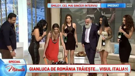 El este Gianluca de Romania