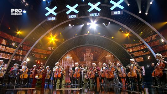 Romanii au talent 2017 - Semifinala 5: Violoncellissimo - Moment muzical