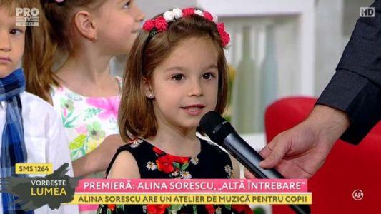 "Premiera: Alina Sorescu prezinta piesa ""Alta intrebare"""