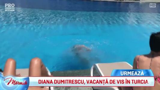 Diana Dumitrescu, vacanta in Turcia