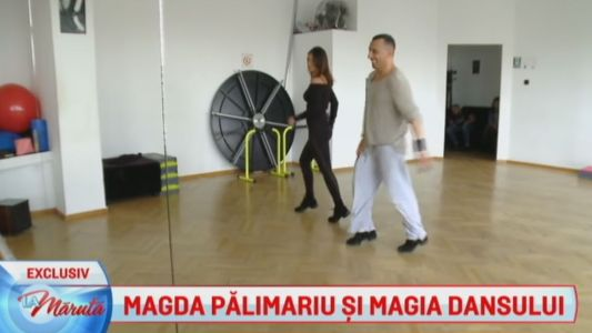 Magda Palimariu si Magia Dansului