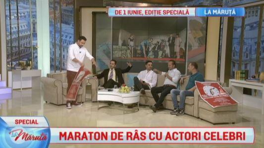 Maraton de ras cu actori celebri