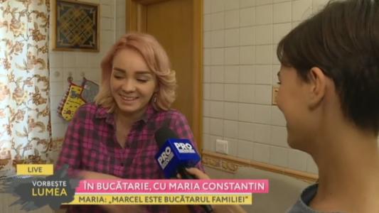 In bucatarie, cu Maria Constantin