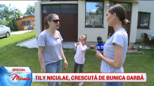 Tily Niculae, crescuta de bunica oarba