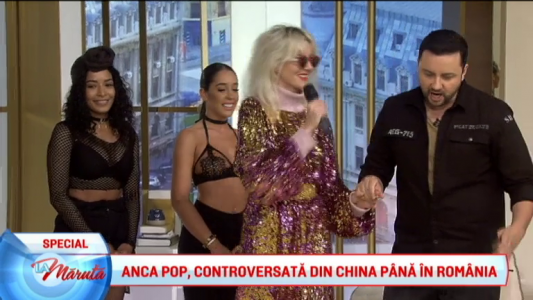 Anca Pop, controversata din China pana in Romania