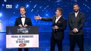 Eduard Antal a castigat premiul de originalitate al sezonului 7 Romanii au talent