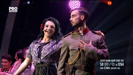 "Romanii au talent 2017 - Finala: Paula Rad - Interpreteaza piesa ""L'amour est un oiseau rebelle"""