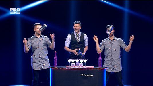 Romanii au talent 2017 - Finala: Valentin Luca - Flair Bartending