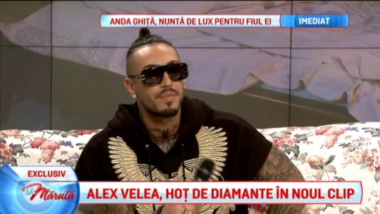 Alex Velea, clip nou
