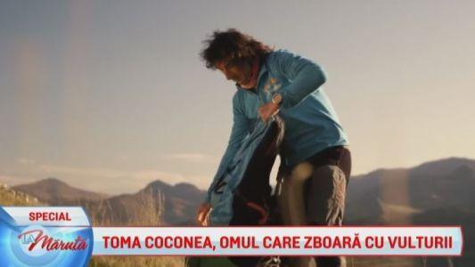 Toma Coconea, omul care zboara cu vulturii