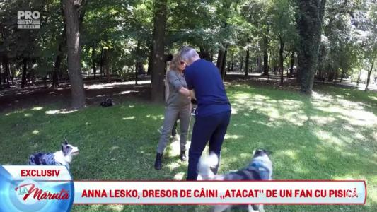 Anna Lesko, dresor de caini