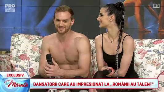 Dansatorii care au impresionat la Romanii au talent