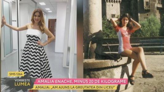 Amalia Enache, minus 20 de kilograme