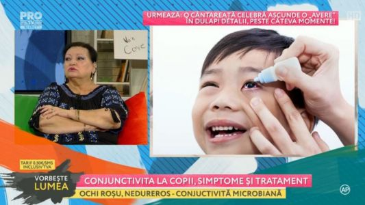 Conjunctivita la copii, simptome si tratament