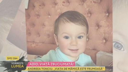 """Andreea Tonciu: """"Viata de mamica este frumoasa!"""""""