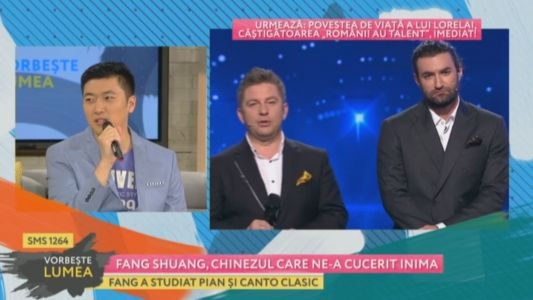 Fang Shuang, chinezul care ne-a cucerit inima
