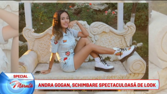 Andra Gogan devine Ariana Grande