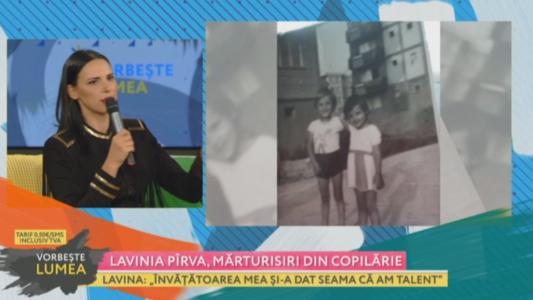 Lavinia Pirva, marturisiri din copilarie