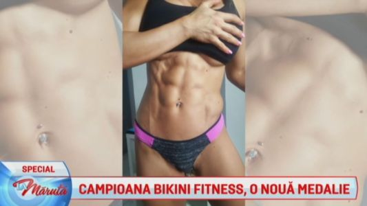 Campioana Bikini Fitness, o noua medalie