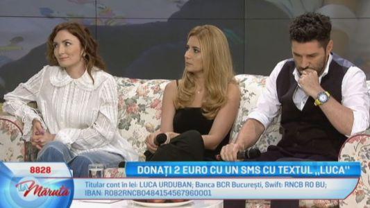 "Donati 2 Euro prin SMS cu textul ""LUCA"""