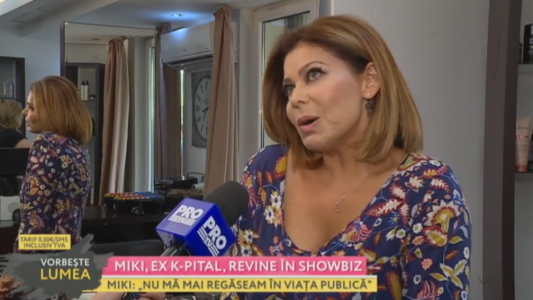 Miki de la Capital revine in showbiz