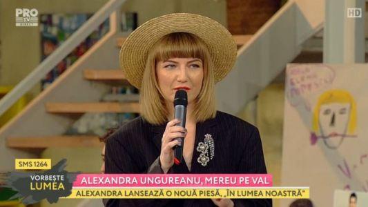 Alexandra Ungureanu, mereu pe val