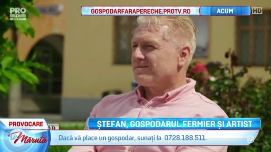 Stefan, gospodarul fermier si artist