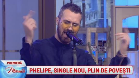 Phelipe, single nou, plin de povesti