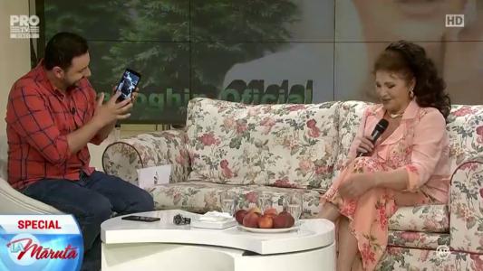 Irina Loghin in vizita La Maruta