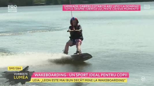 Wakeboarding - un sport ideal pentru copii
