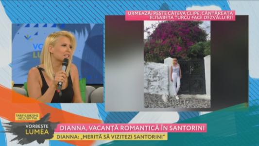 Dianna, vacanta romantica in Santorini