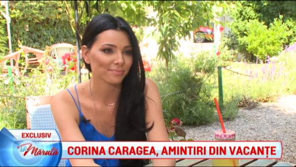 Corina Caragea, amintiri din vacante