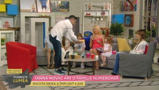 Ianna Novac are o familie numeroasa