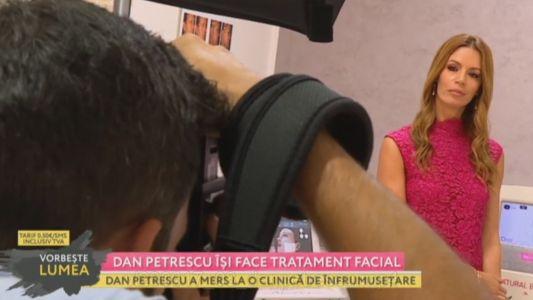 Dan Petrescu isi face tratament facial