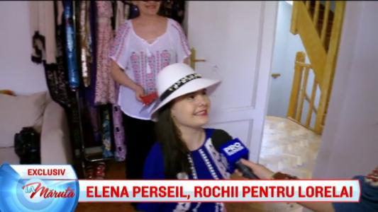 Elena Perseil, rochii pentru Lorelai