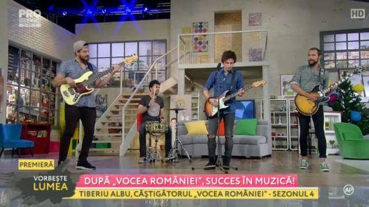 Tiberiu Albu, Dupa Vocea Romaniei, succes in muzica
