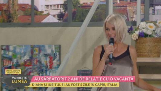Diana Dumitrescu, vacanta de vis alaturi de iubit