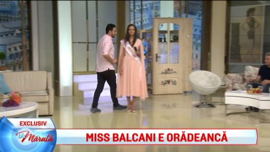 Miss Balcani e oradeanca