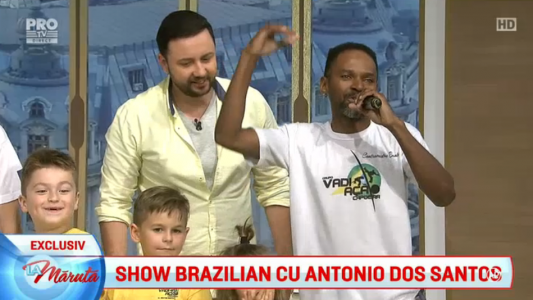 Show brazilian cu Antonio Dos Santos