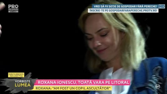 Roxana Ionescu, toata vara pe litoral