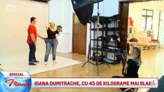 Ioana Dumitrache a slabit 45 de kilograme