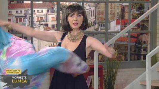 Adela Popescu, aparitie de senzatie la Vorbeste lumea