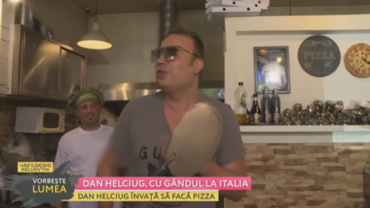 Dan Helciug, cu gandul la Italia