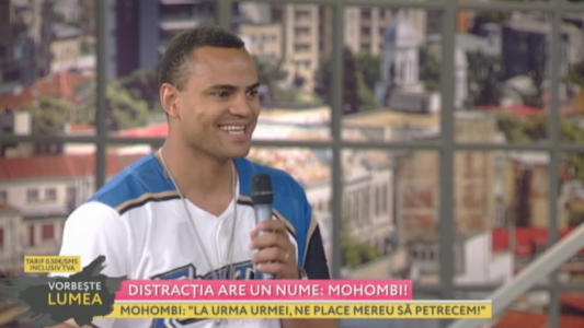 Distractia are un nume: Mohombi