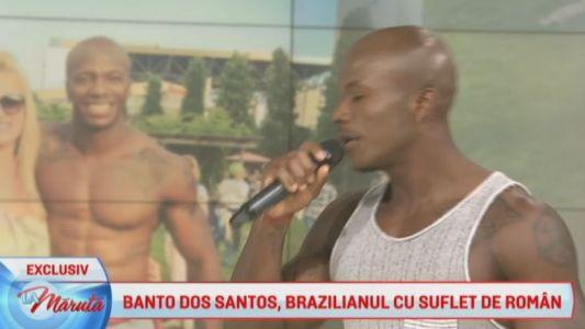 Banto Dos Santos, brazilianul cu suflet de roman