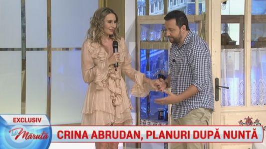 Crina Abrudan, planuri dupa nunta